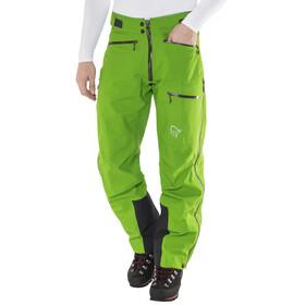Norrøna trollveggen Gore-Tex light Pro lange broek Heren groen
